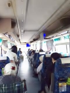 HP用 バス車内